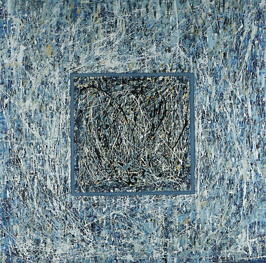 Interior series - Abstract 118 - Karla Higueros