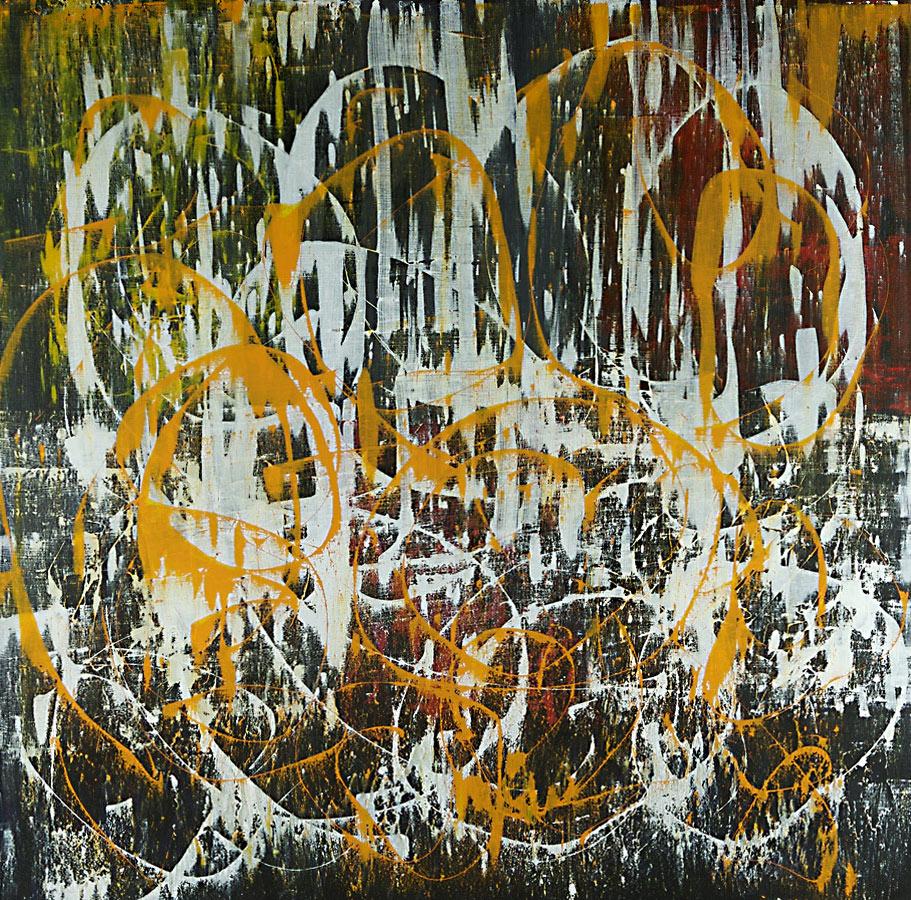 Interior series - Abstract 129 - Karla Higueros