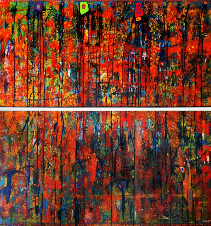 Large Murals - Allegro de Primavera - Karla Higueros