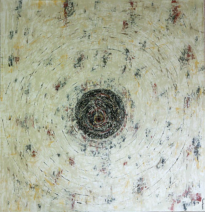 Mystikos y Arena series - Abstract 200 - Karla Higueros