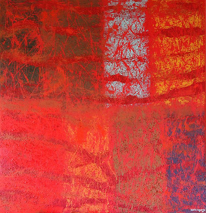 Mystikos y Arena series - Abstract 201 - Karla Higueros