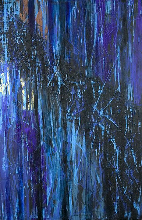 Mystikos y Arena series - Abstract 204 - Karla Higueros