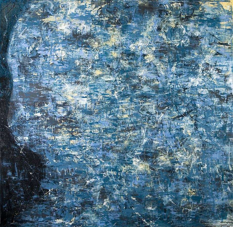 Mystikos y Arena series - Abstract 208 - Karla Higueros