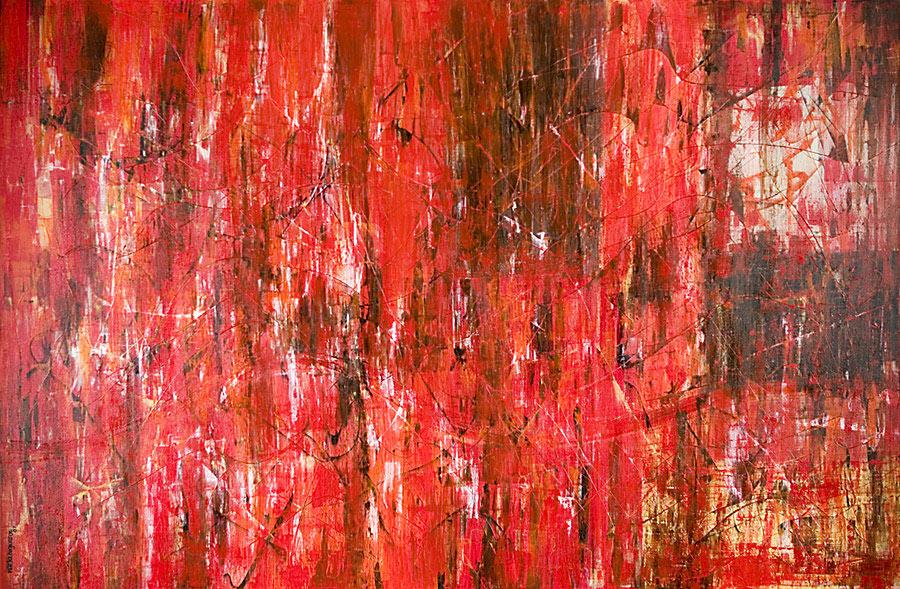Mystikos y Arena series - Abstract 210 - Karla Higueros