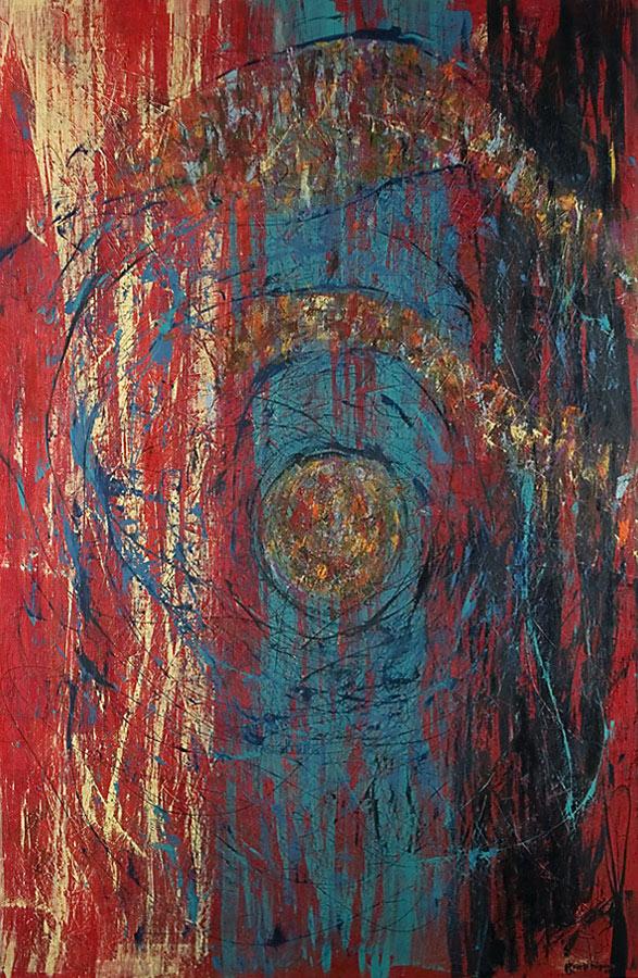 Mystikos y Arena series - Abstract 214 - Karla Higueros