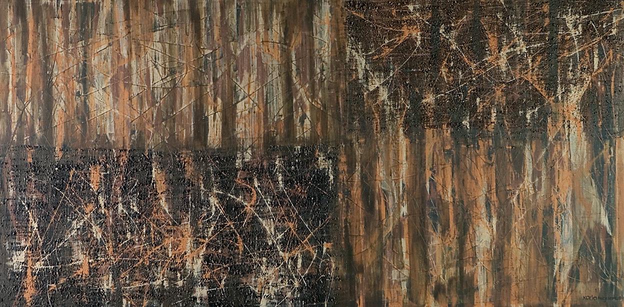 Mystikos y Arena series - Abstract 217 - Karla Higueros