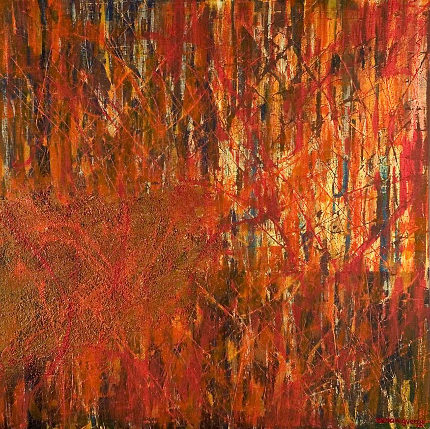 Mystikos y Arena series - Abstract 218 - Karla Higueros