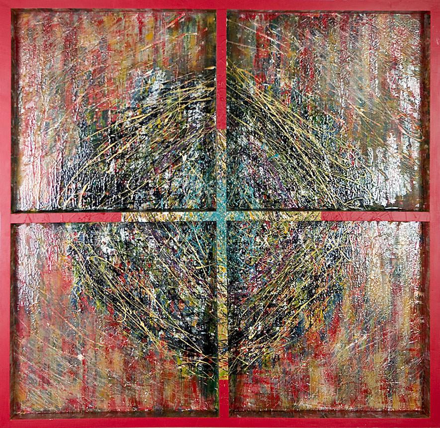 Mystikos y Arena series - Abstract 222 - Karla Higueros