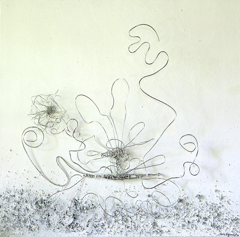Mystikos y Arena series - Abstract 223 - Karla Higueros