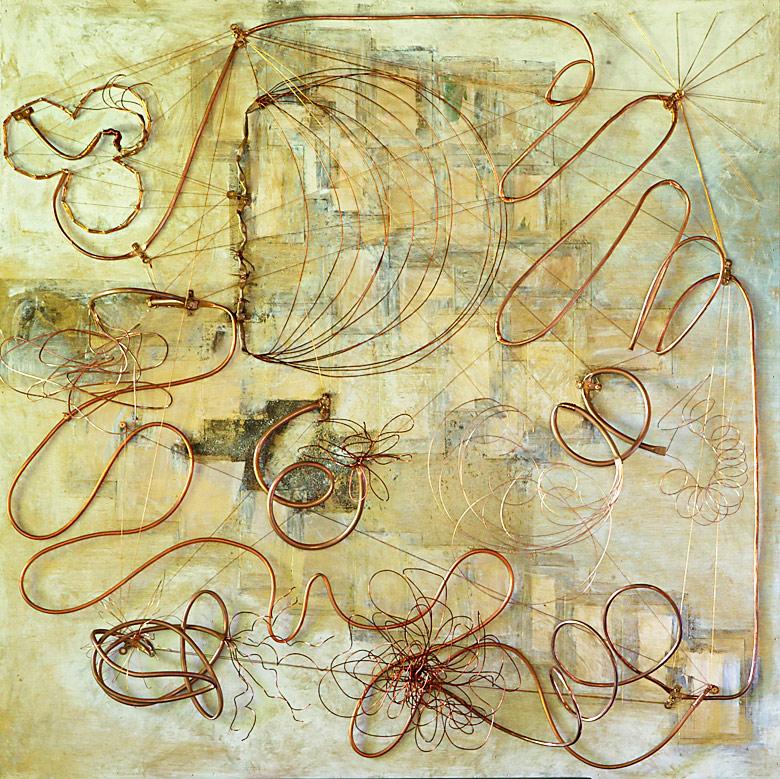 Mystikos y Arena series - Abstract 229 - Karla Higueros
