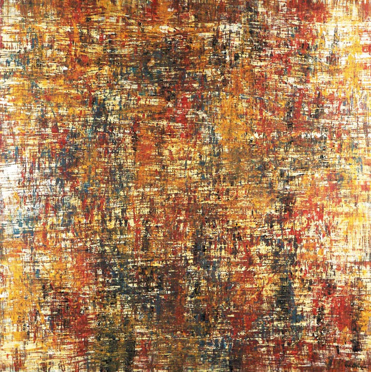 Saudade Dois series - Abstract 101 - Karla Higueros