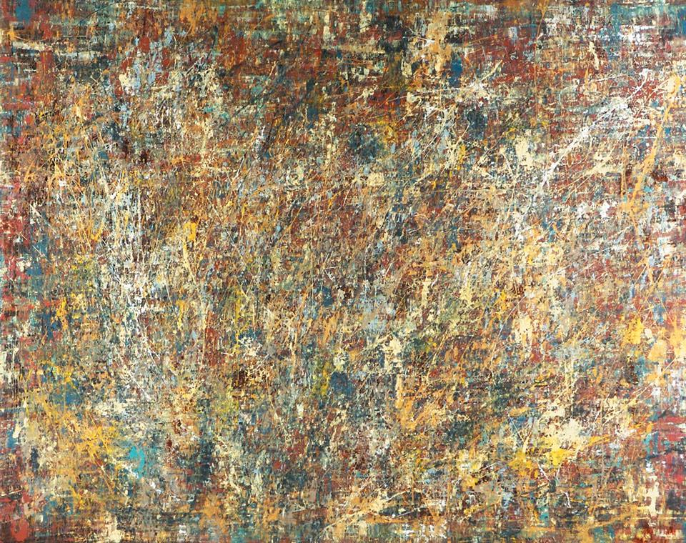 Saudade Dois series - Abstract 106 - Karla Higueros