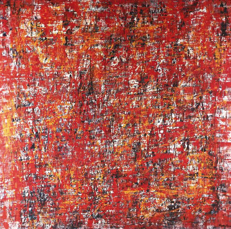Saudade Dois series - Abstract 94 - Karla Higueros
