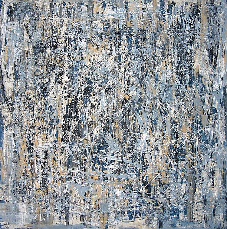 Saudade series - Abstract 19 - Karla Higueros