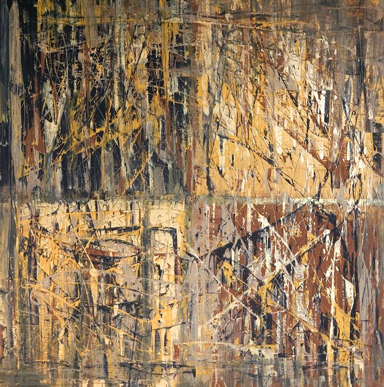Saudade series - Abstract 20 - Karla Higueros