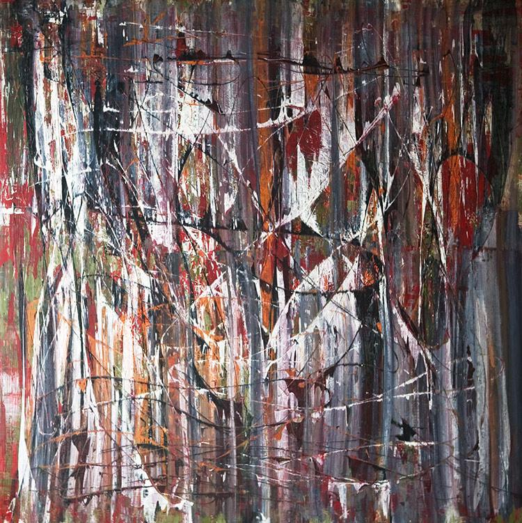 Saudade series - Abstract 21 - Karla Higueros