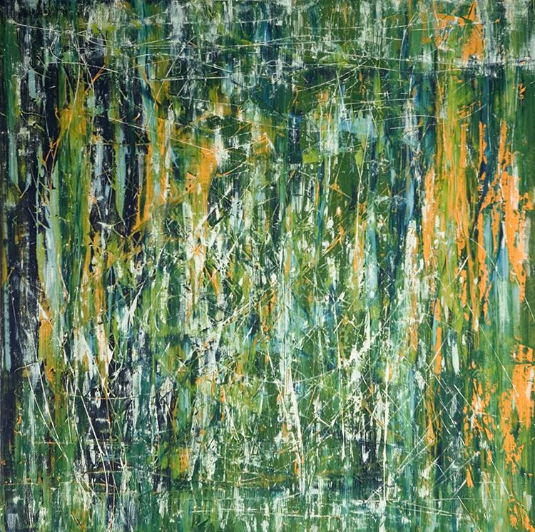 Saudade series - Abstract 26 - Karla Higueros