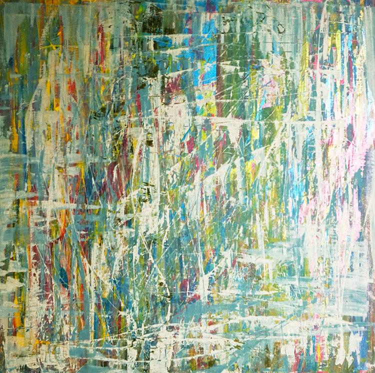 Saudade series - Abstract 27 - Karla Higueros
