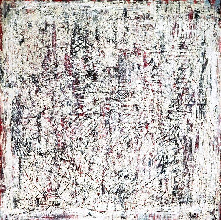 Saudade series - Abstract 30 - Karla Higueros