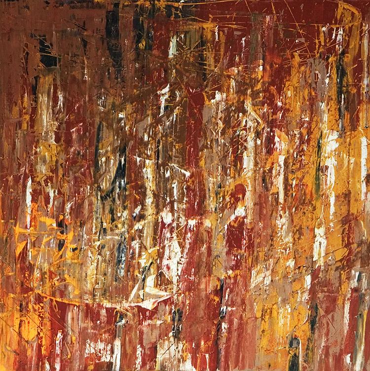 Saudade series - Abstract 32 - Karla Higueros