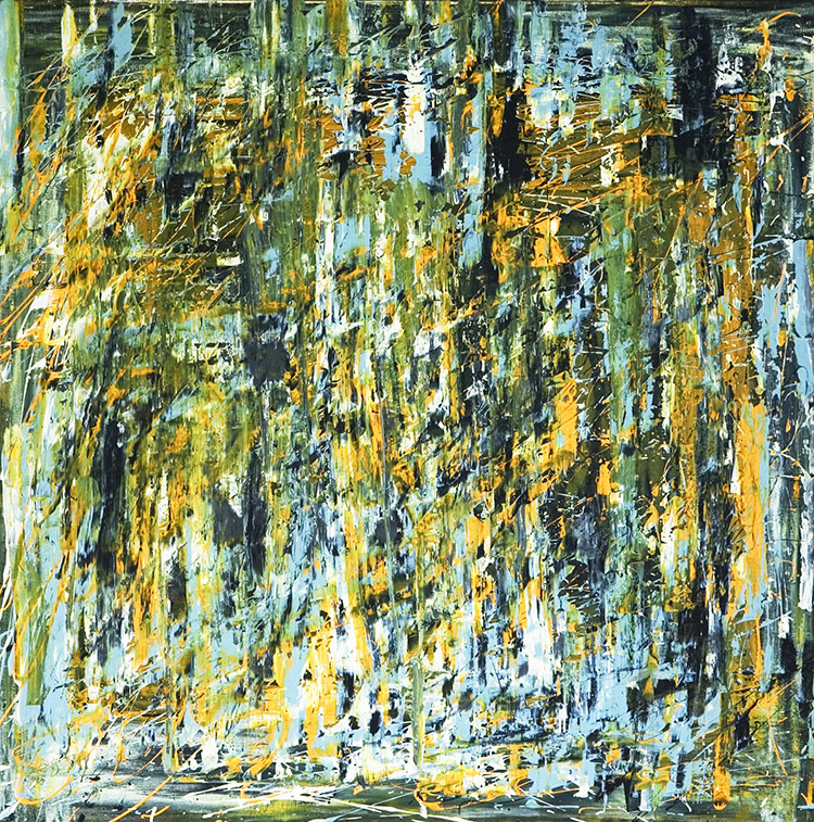Saudade series - Abstract 33 - Karla Higueros