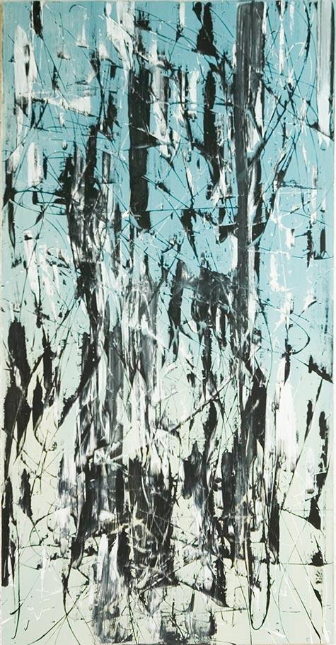Saudade series - Abstract 34 - Karla Higueros