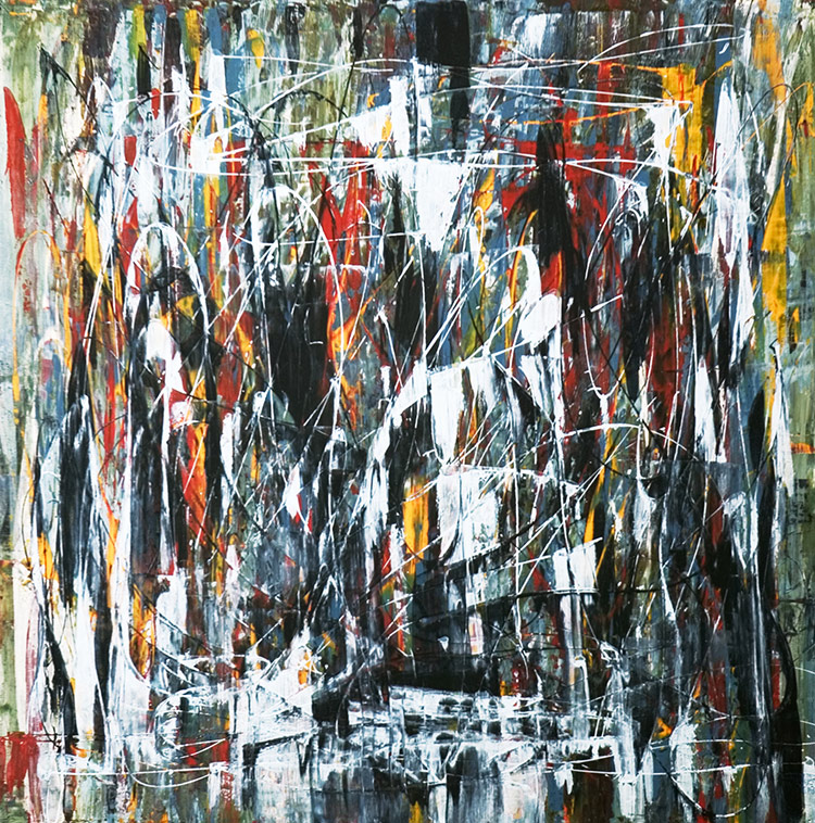 Saudade series - Abstract 36 - Karla Higueros
