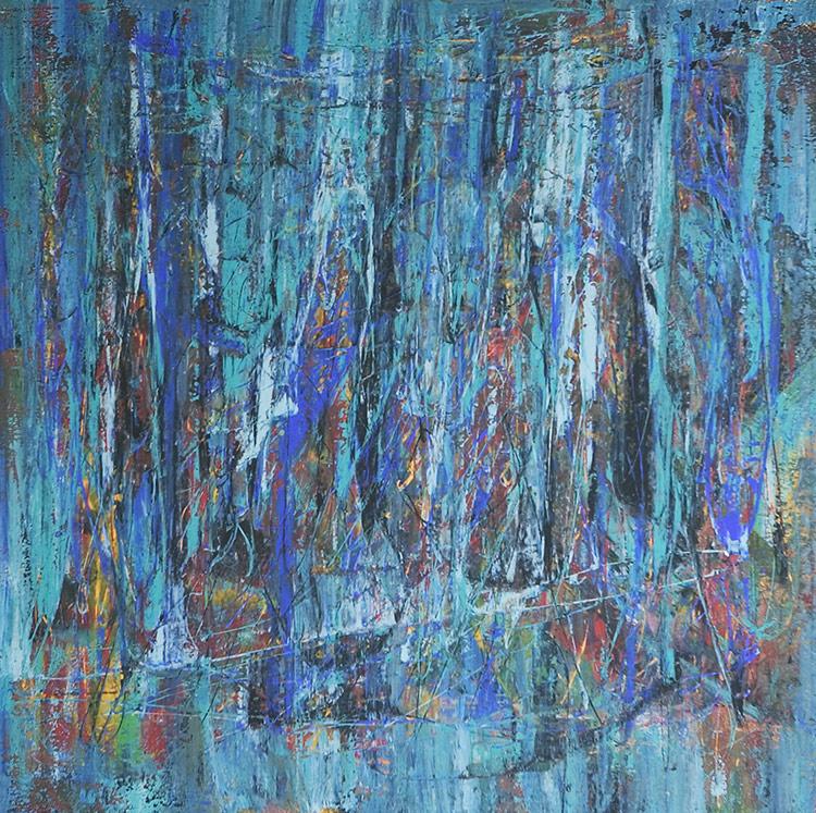 Saudade series - Abstract 37 - Karla Higueros