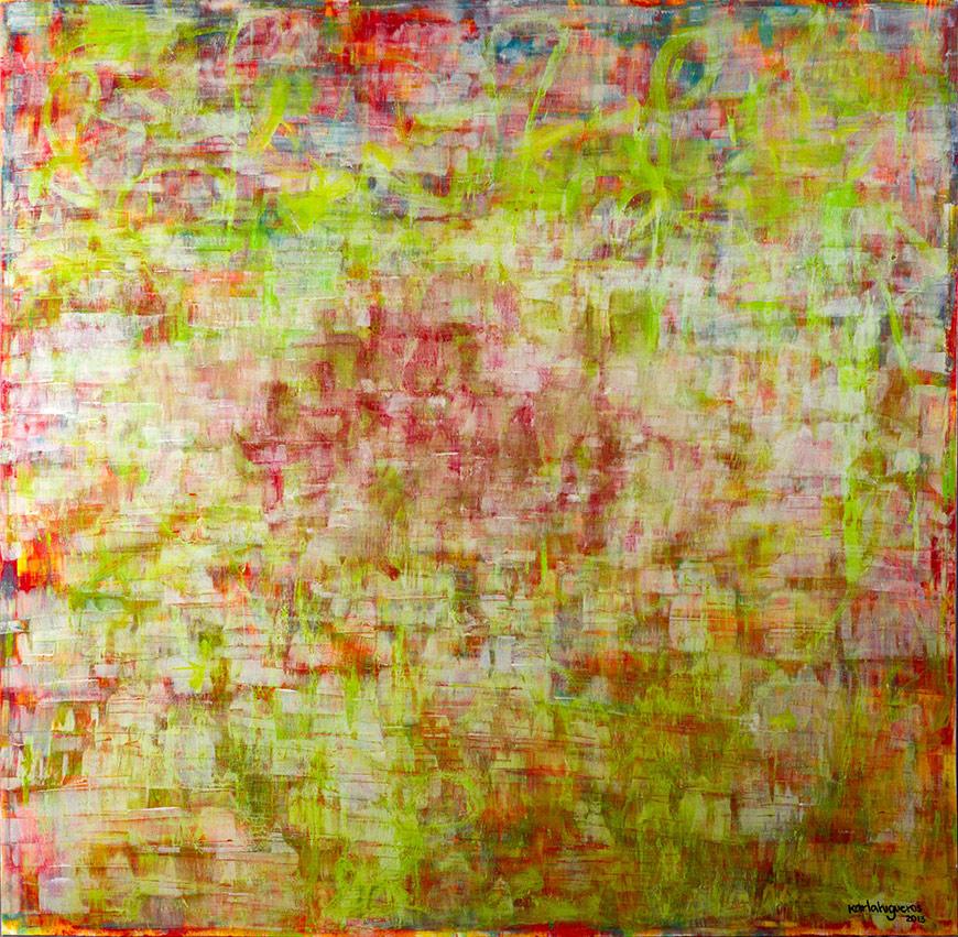 SeCuEnCia series - Abstract 715 - Karla Higueros