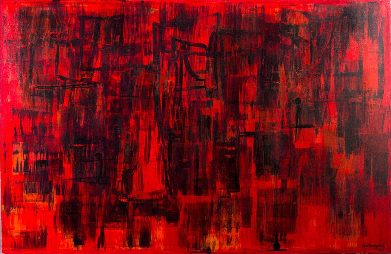 SeCuEnCia series - Abstract 719 - Karla Higueros