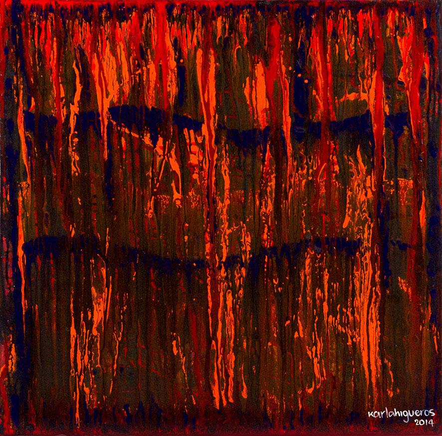 SeCuEnCia series - Abstract 726 - Karla Higueros