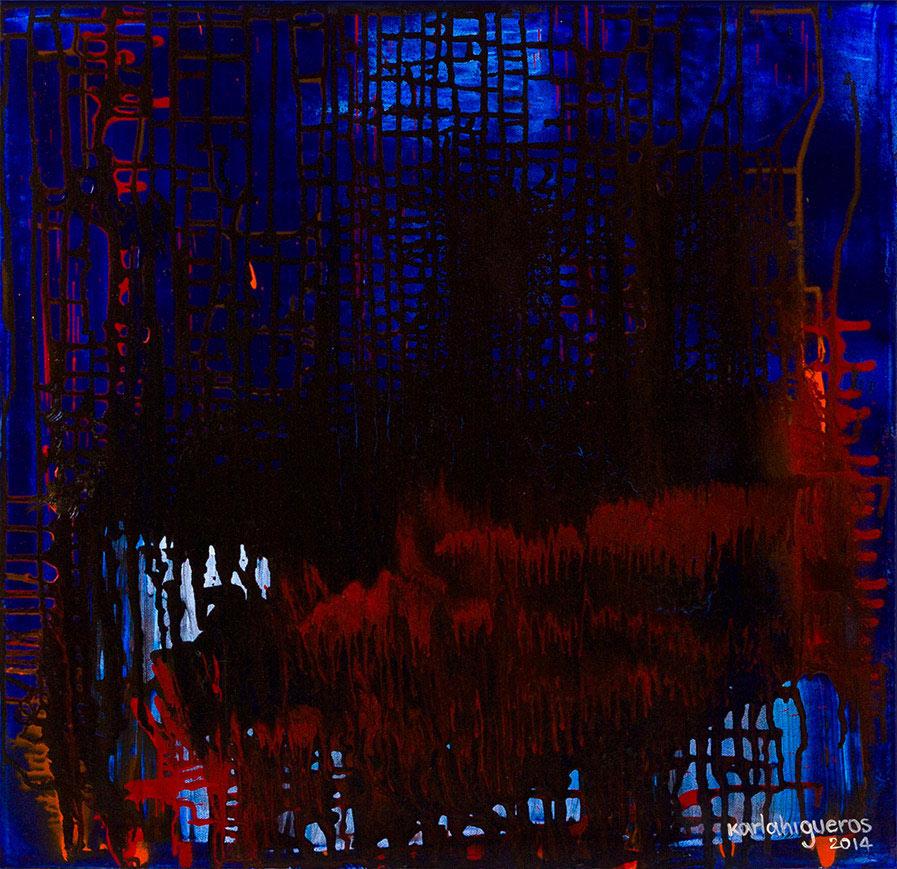 SeCuEnCia series - Abstract 727 - Karla Higueros