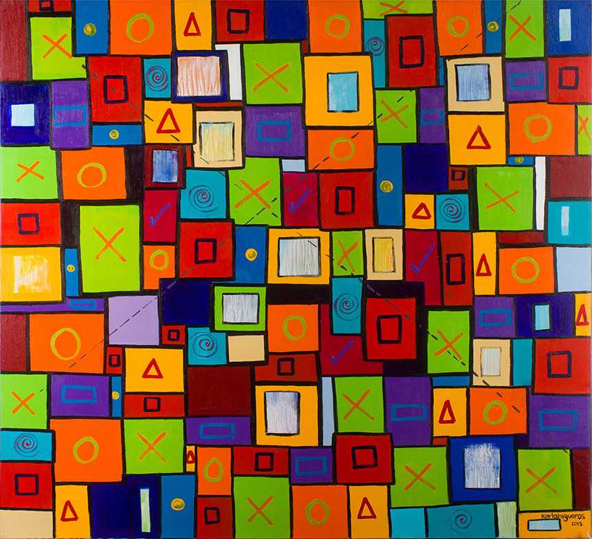 SeCuEnCia series - Abstract 730 - Karla Higueros