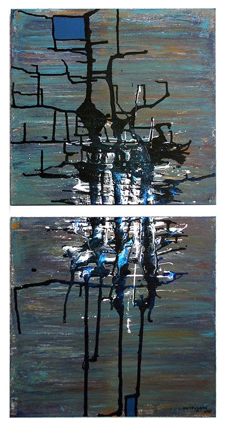 SeCuEnCia series - Abstract 739 - Karla Higueros