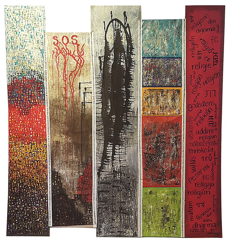 Shaping the Unbounded series - Stitches to Peace - Karla Higueros