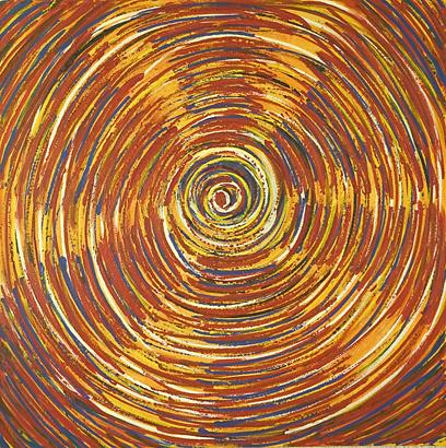 Vida x Circunstancias / Tiempo series - Abstract 303 - Karla Higueros