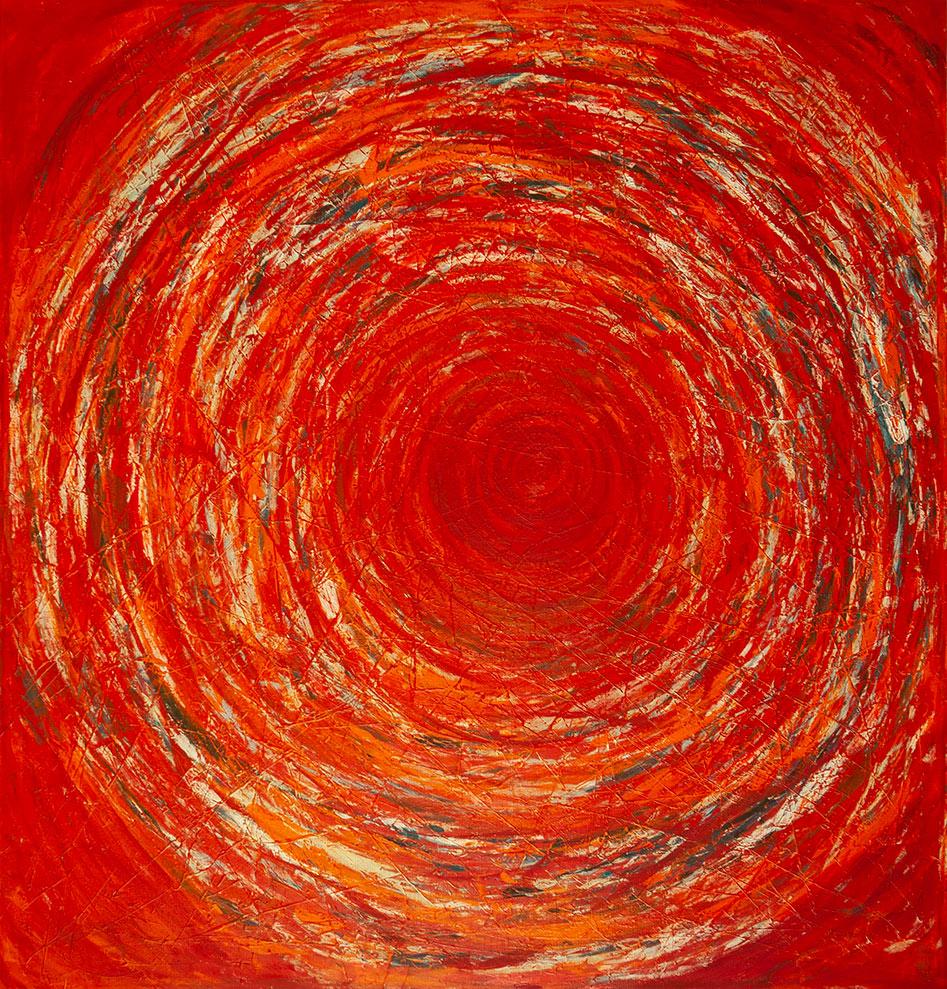 Vida x Circunstancias / Tiempo series - Abstract 307 - Karla Higueros