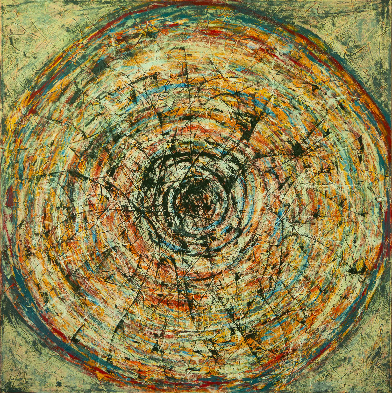 Vida x Circunstancias / Tiempo series - Abstract 308 - Karla Higueros