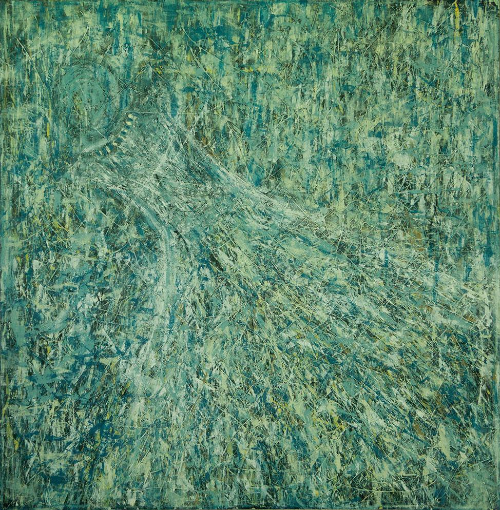 Vida x Circunstancias / Tiempo series - Abstract 309 - Karla Higueros